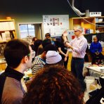 Image of Al Crosby giving lab tour